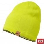 Helly Hansen Czapka zimowa z polarem (67083) MOUNTAIN FLEECE LINED limonkowa