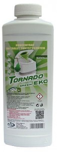 Płyn Tornado Green EKO do toalet koncentrat 0,5l.- do zbiornika na fekalia