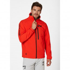 Helly Hansen Kurtka męska (34041) HP RACING MIDLAYER LifaLoft  alert red