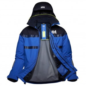 Helly Hansen Kurtka męska sztormiak (34173) SALTRO Jacket royal blue cobalt
