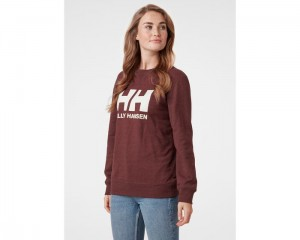 Helly Hansen Bluza damska (34003) HH LOGO CREW SWEAT redwood