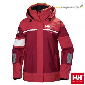 Helly Hansen Kurtka damska sztormiak (33925) SALT LIGHT bordo