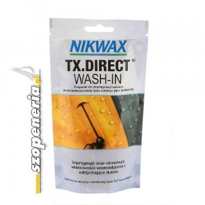 Nikwax Impregnat TX.Direct Wash-In saszetka 100ml