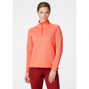 Helly Hansen Bluza damska outdoor (62965) VERGLAS 1/2 ZIP cherry tomato