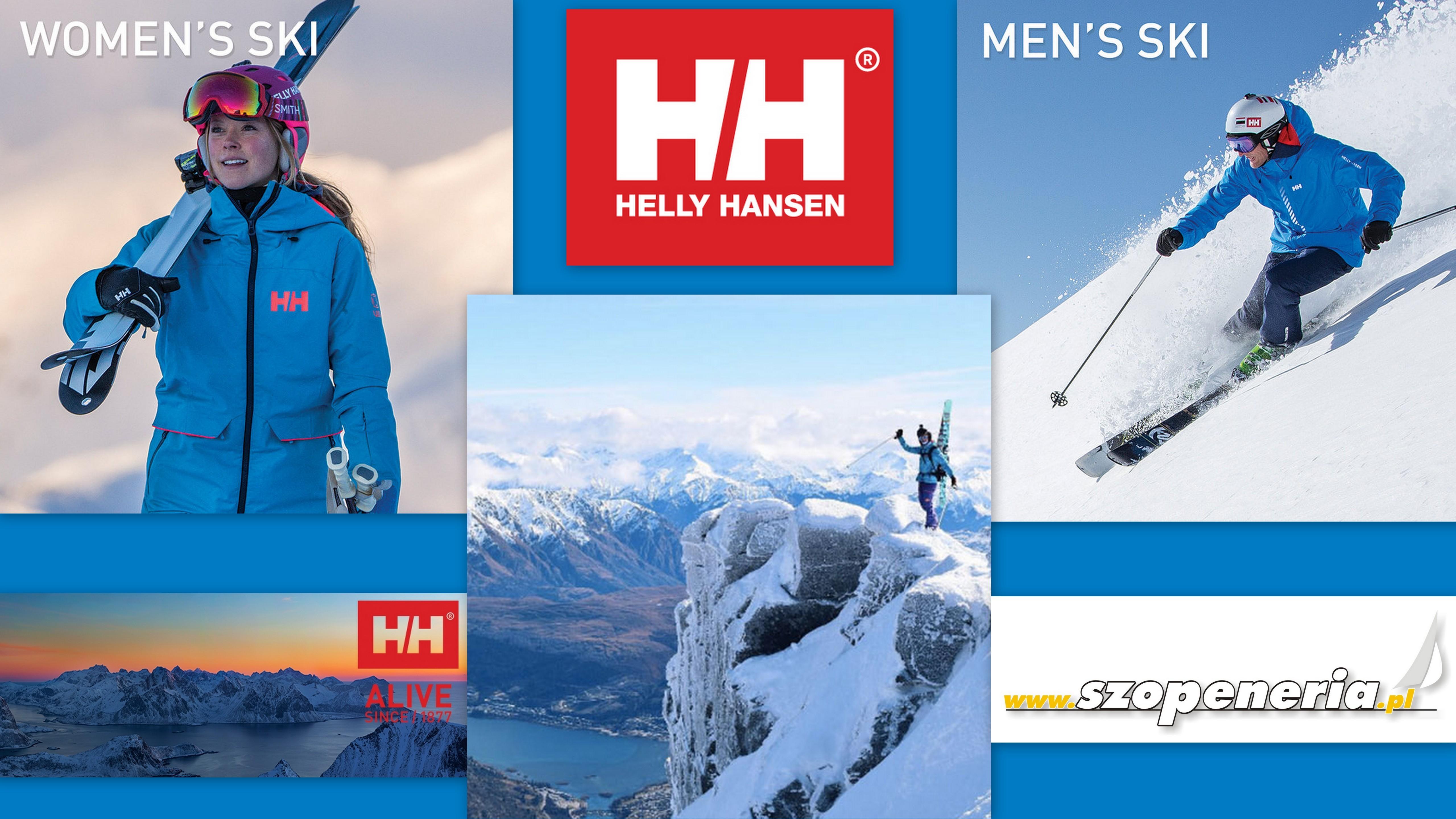 662d009009391 Innowacyjna kolekcja odzieży narciarskiej Helly Hansen, ULLR. Nazwa na  cześć nordyckiego boga śniegu. Kolekcja ULLR została stworzona z myślą o ...