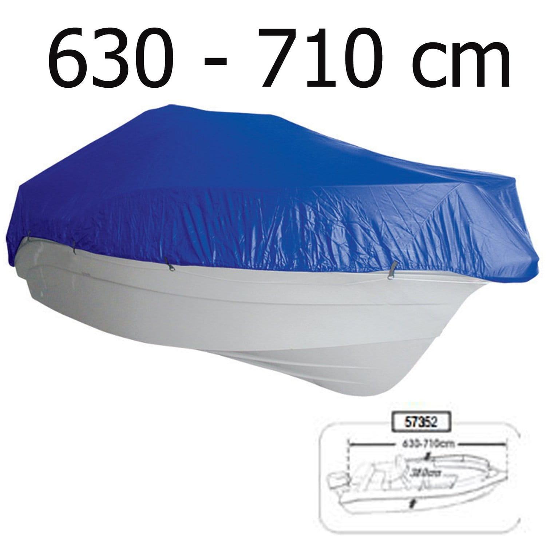 Bardzo dobra Pokrowiec - plandeka na łódź 630-710 szer 380cm Sklep żeglarski i XD72